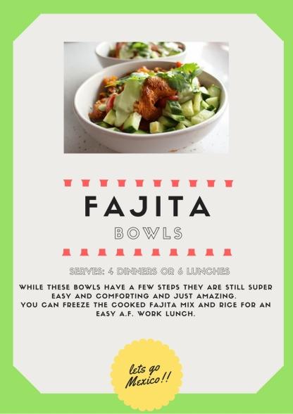 Fajita Bowls 1